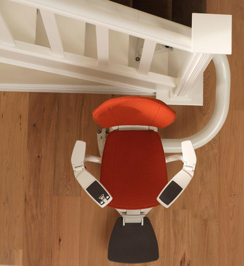 straight and curved stairlifts