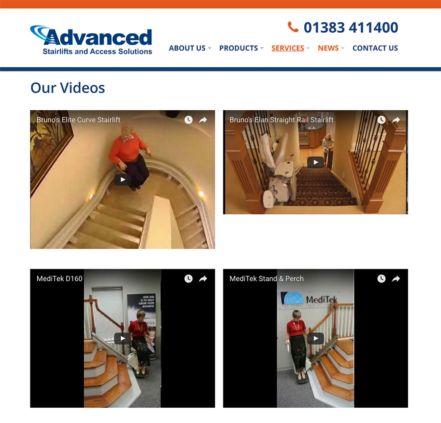 Stairlift Videos